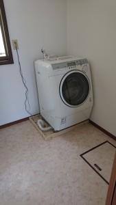 洗濯機寄付