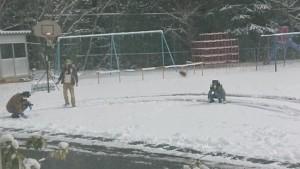 雪遊び②雪遊び