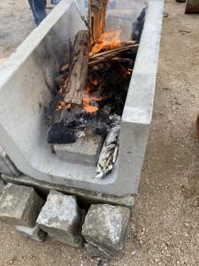 BBQ着火試験